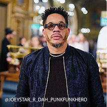 JOEY STARR JOEYSTARR NTM lunettes jaupin sur mesure