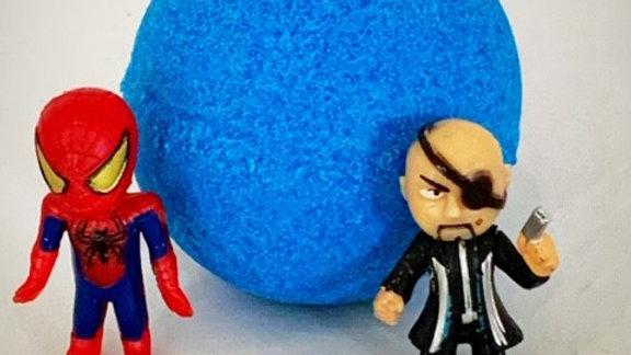 Super hero bath bombs