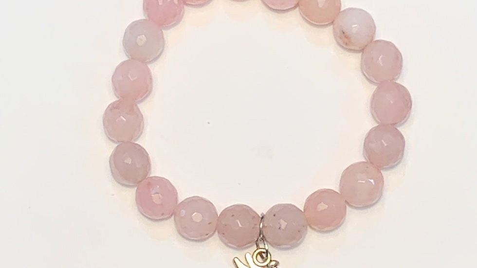Fairy Rose Quartz bracelet