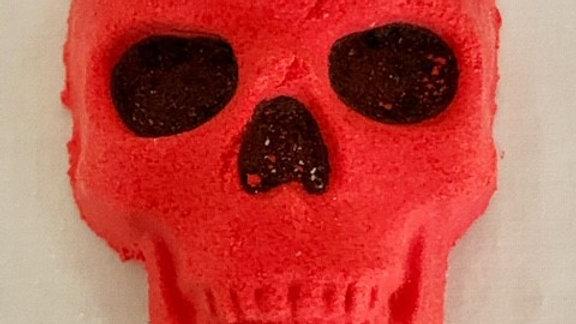 Red Skull bath bombs