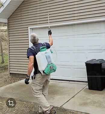Ed Winter Spraying Treatment in Big Rapids MI