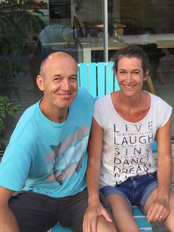 Vermieter Sarah und Adrian Berni