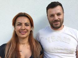 Team Raumpflege Christiana und José