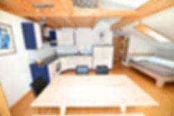 Terra Berni Ferienwohnung in Vals im Dachgeschoss