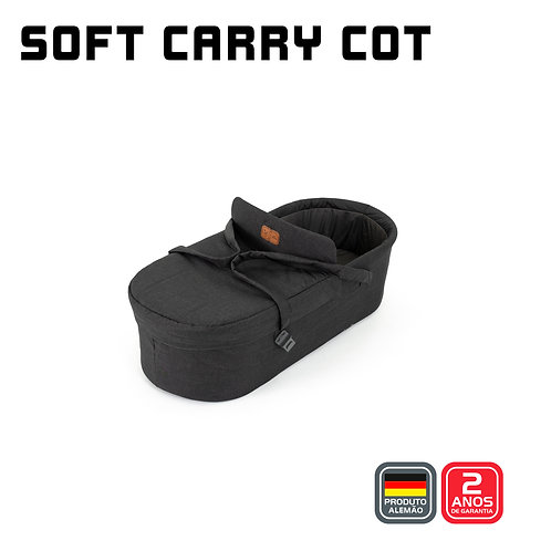 Soft Carry Cot (Moises) para Merano WOVEN BLACK