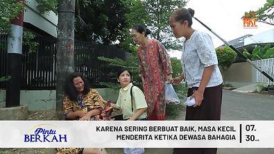 KARENA SERING BERBUAT BAIK, MASA KECIL M
