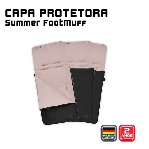Summer Footmuff (Capa protetora + Saco de Dormir) ROSE GOLD