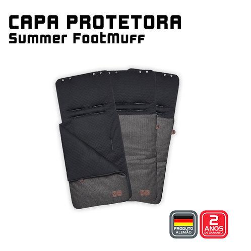 Summer Footmuff (Capa protetora + Saco de Dormir) ASPHALT