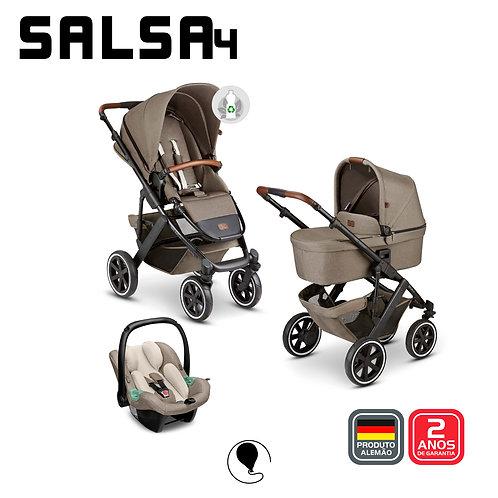 Salsa 4 NATURE ECO (Carrinho +Bebê Conforto Tulip + Adaptador + Moises)