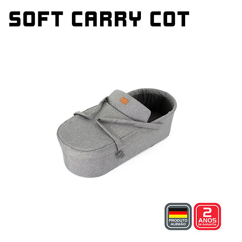 Soft Carry Cot (Moises) para Merano WOVEN GREY