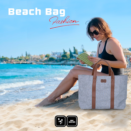 Bolsa Beach Bag GRAPHITE GREY