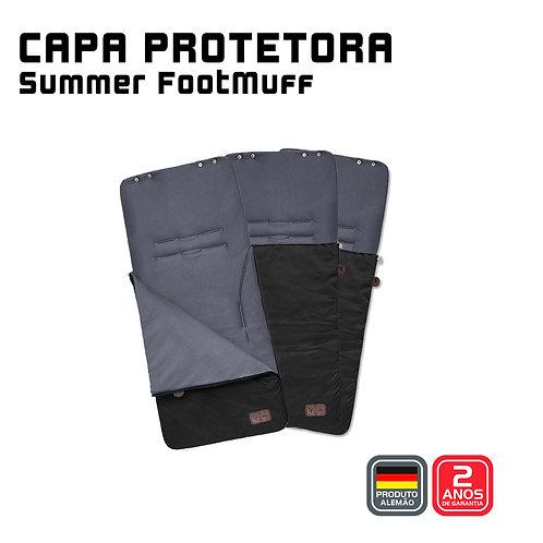 Summer Footmuff  (Capa protetora + Saco de Dormir) GRAVEL