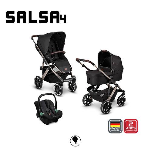 Salsa 4 DOLPHIN Diamond (Carrinho +Bebê Conforto Tulip + Adaptador + Moises)