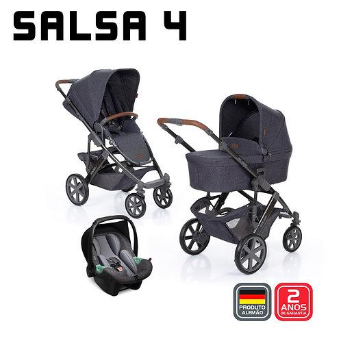 Salsa 4 STYLE STREET (Carrinho + Bebê Conforto Tulip + Adaptador + Moisés)