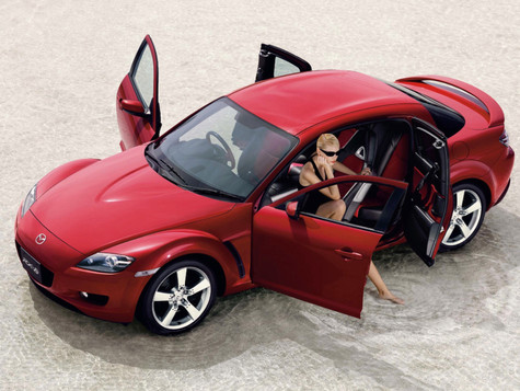 Mazda RX-8 2005 Photographer: Tom Nagy