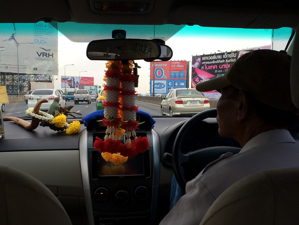Taxi thaïlandais