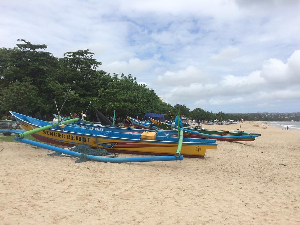 La plage de Denpasar