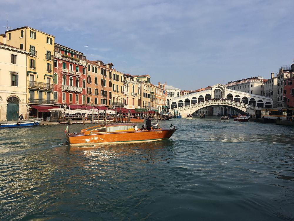 L'un des 4 grands ponts de Venise : le Pont Rialto