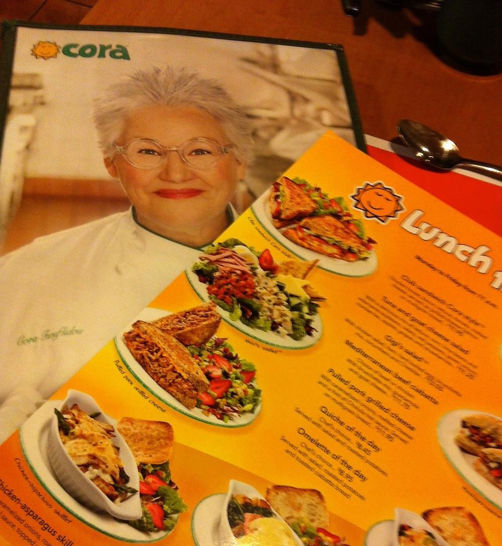 Les petit-déjeuners chez Cora