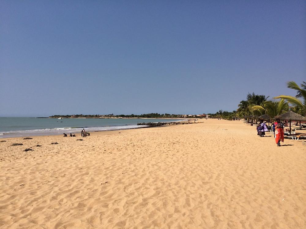 La plage de Sally