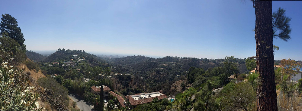 Panorama sur Beverly Hills