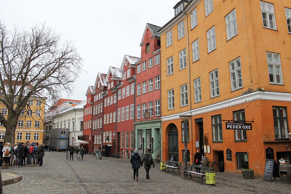 Les rues de Copenhague
