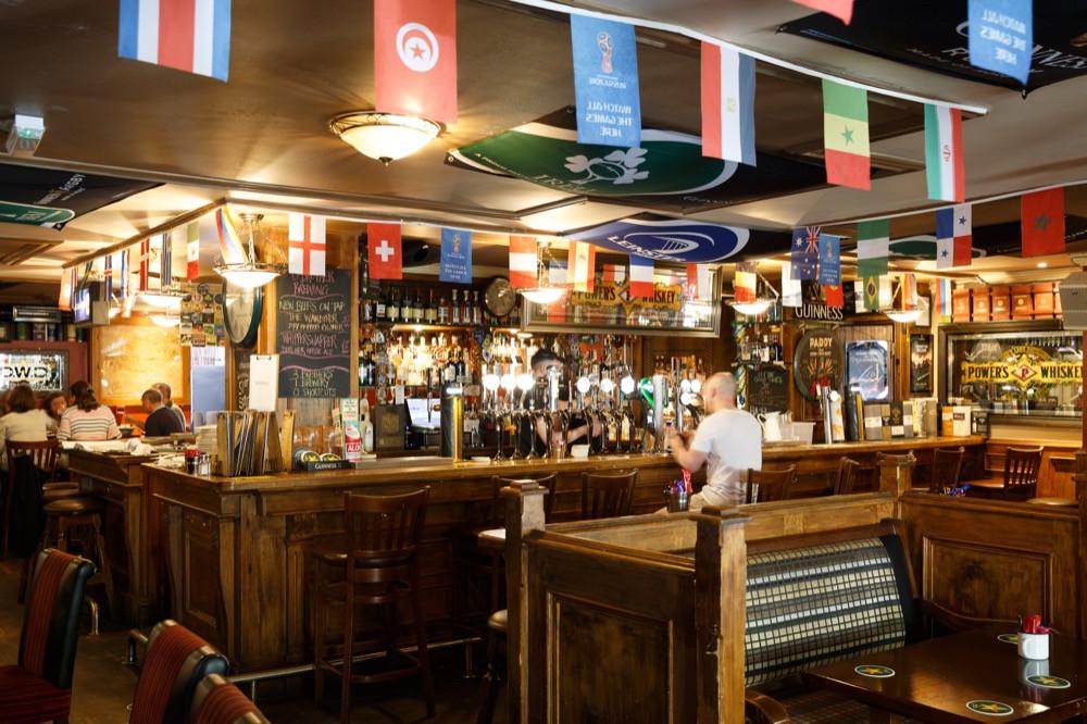 Le pub Darkey's Kelly à Dublin