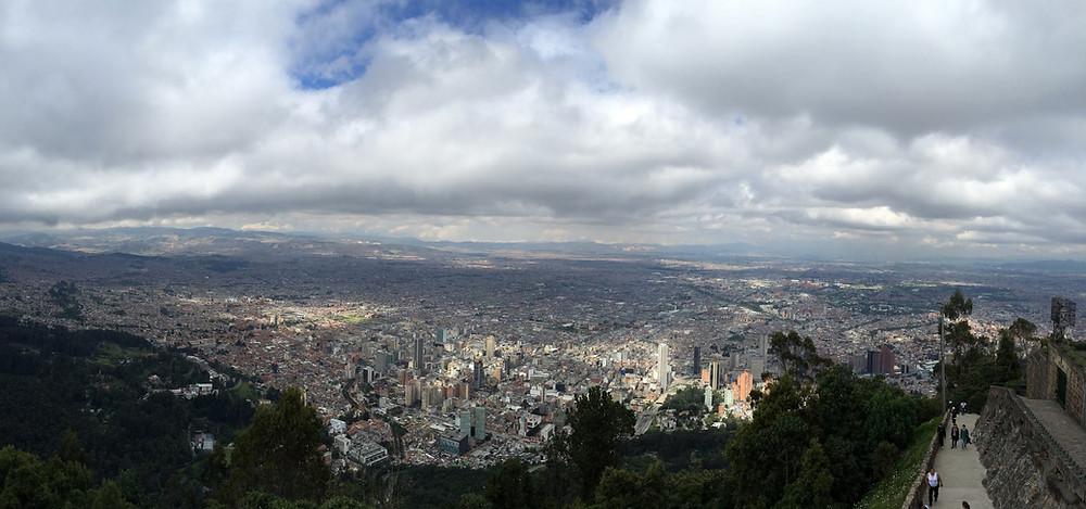 La vue depuis Monserrate