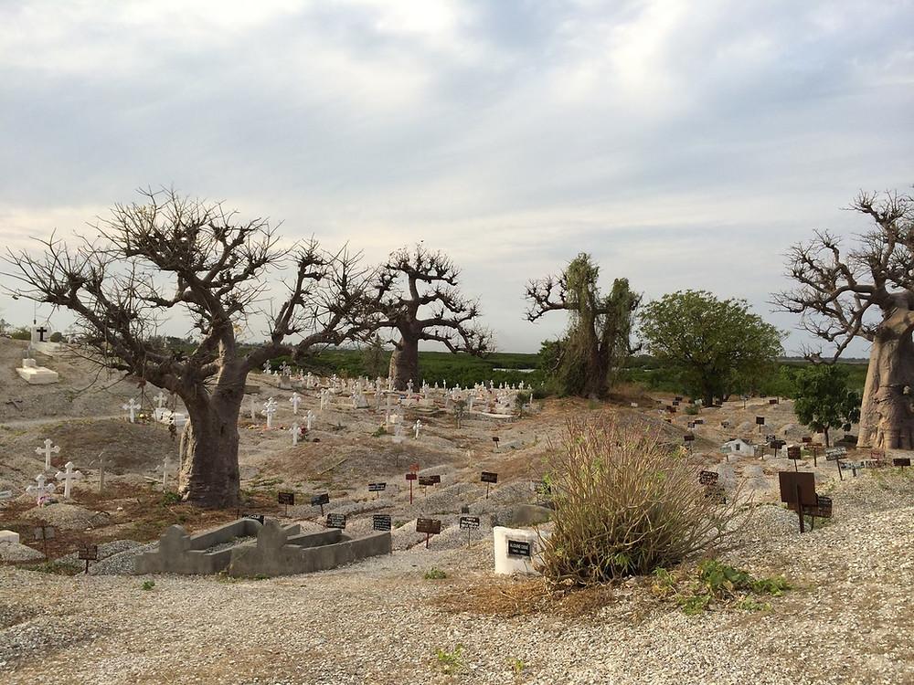 Le cimetière de Joal Fadiouth