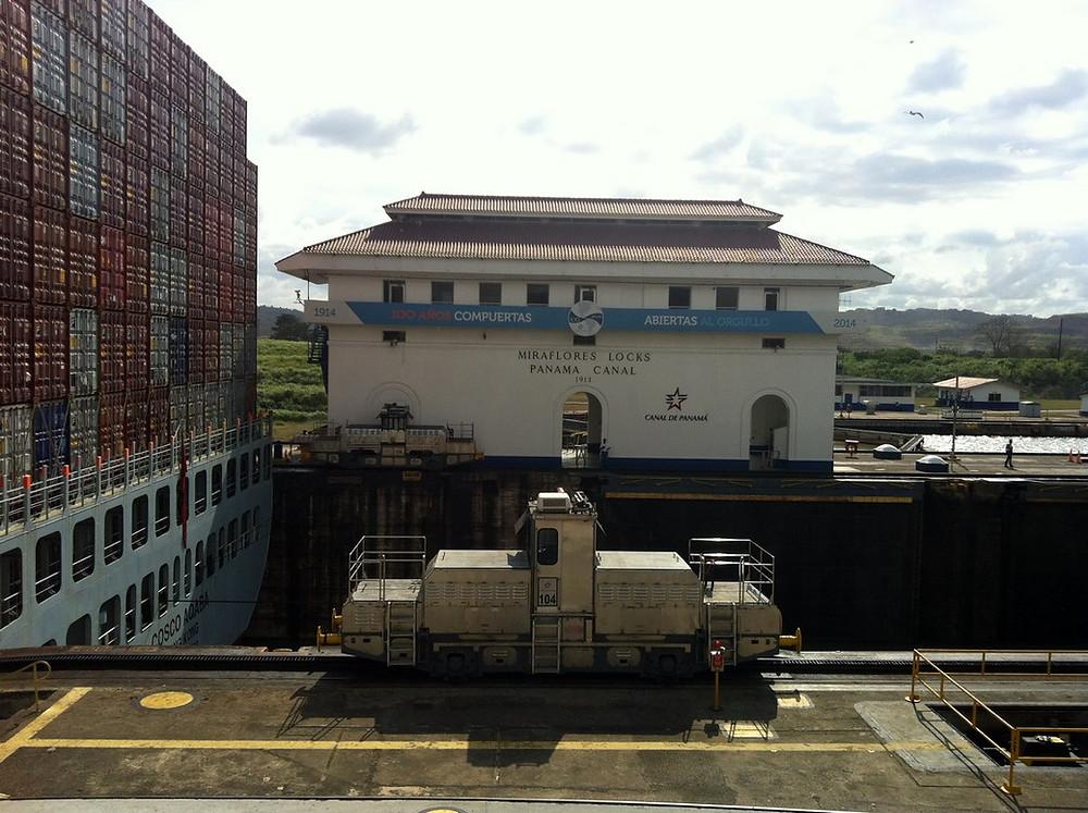 Canal du panama - Miraflores
