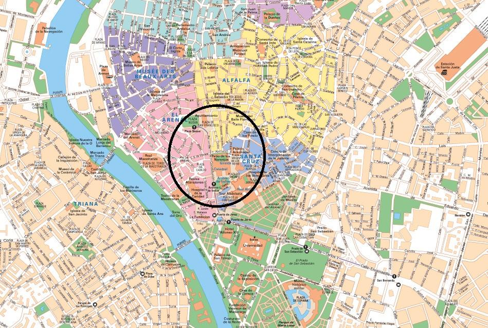 Où loger dans Séville