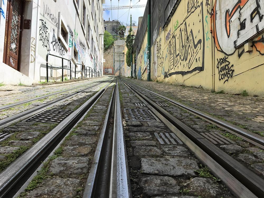 Ascensor de Lavra Lisbonne