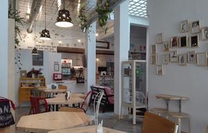 La salle du restaurant Mamafante y Papaposa