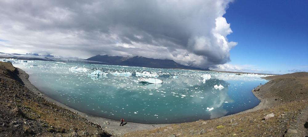 Le lac de Fjallsarlon