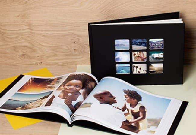 Un exemple d'album Photobox