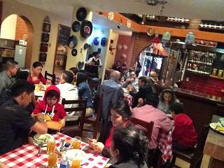 Restaurant typique à Bogota