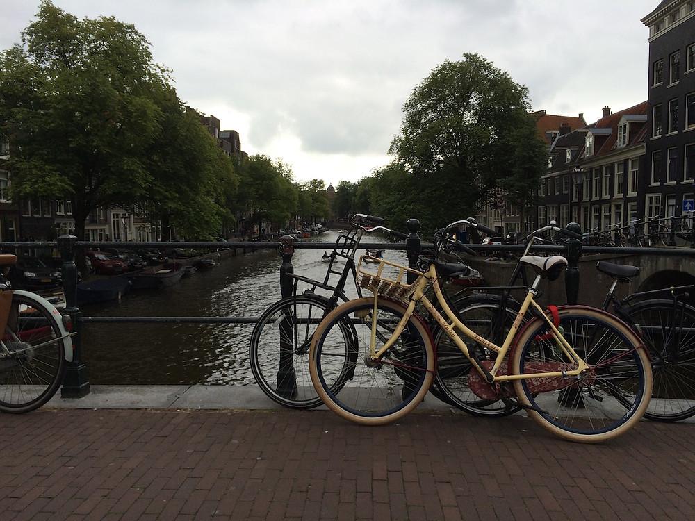 Amsterdam ou la ville aux vélos