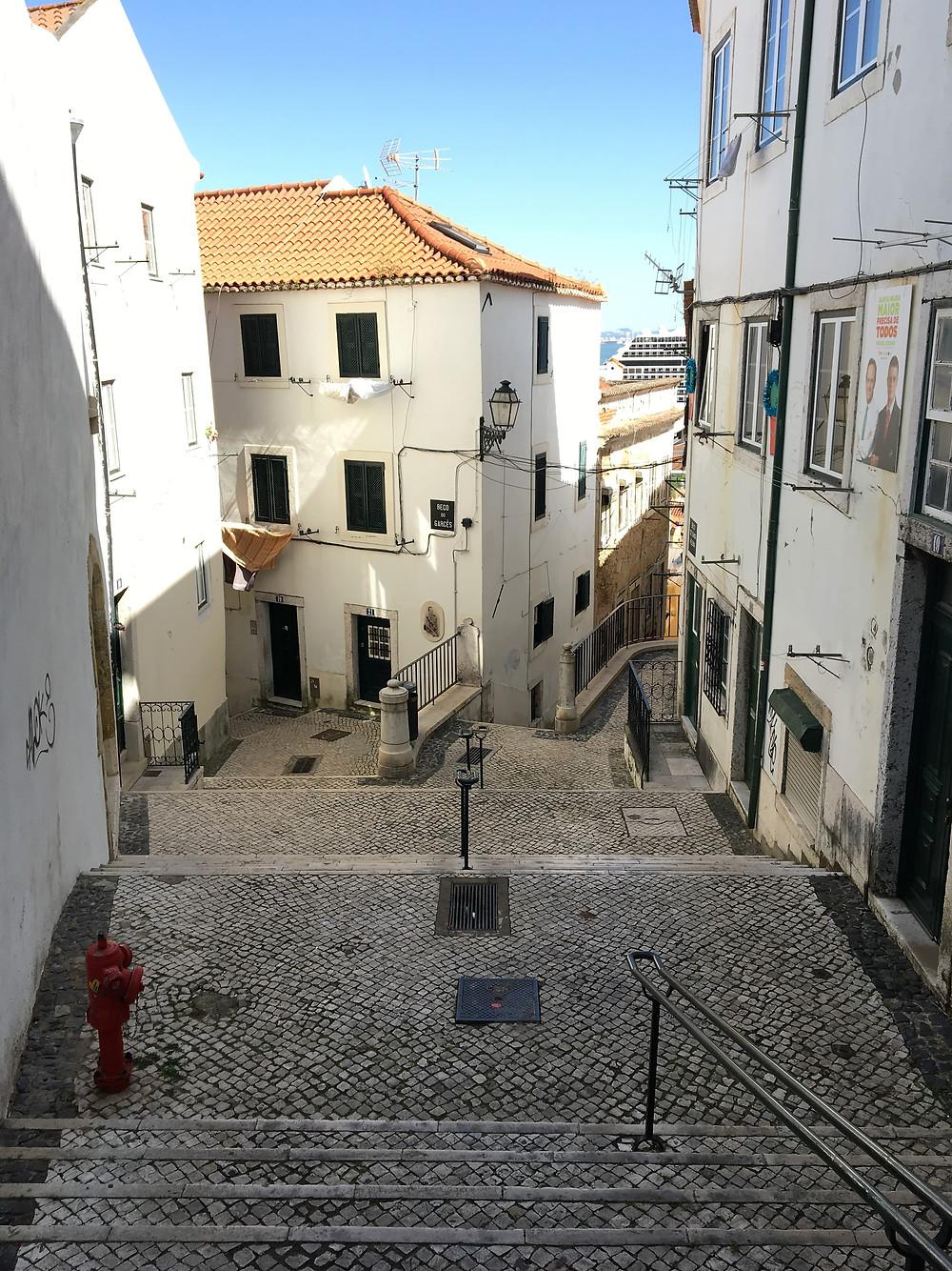 Les rues de l'Alfama