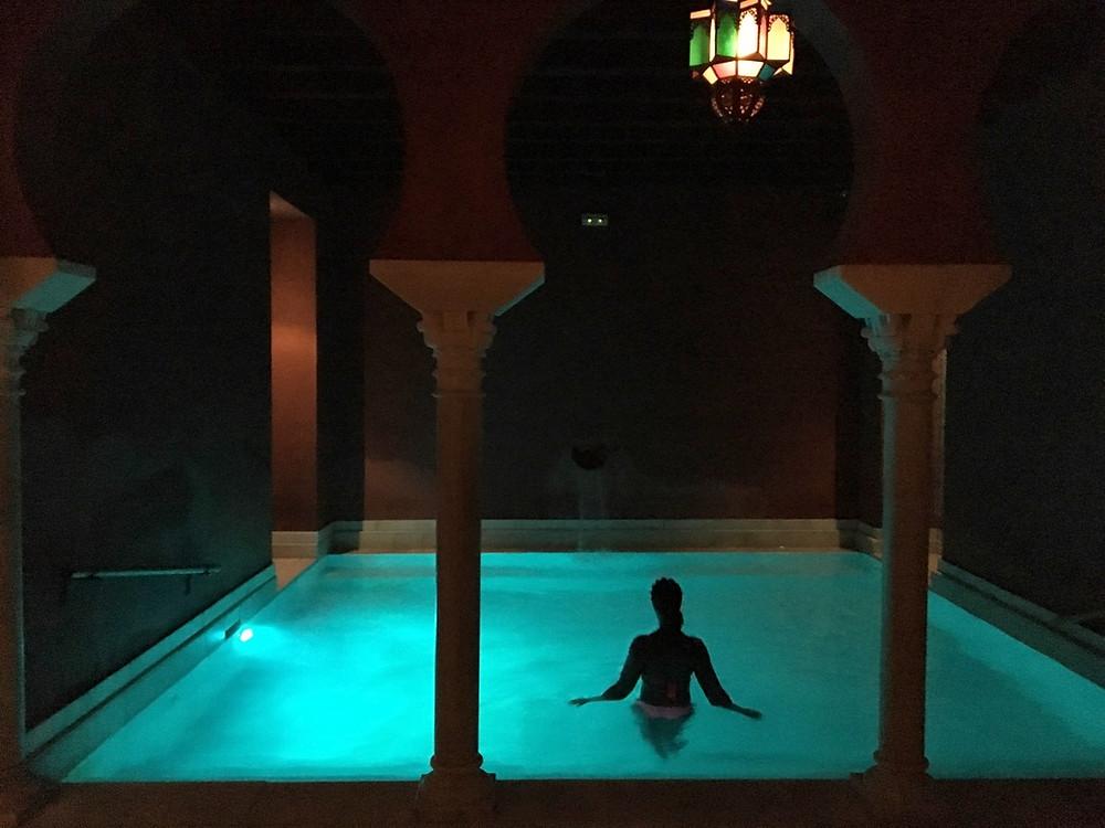 Les bains arabes de notre hôtel