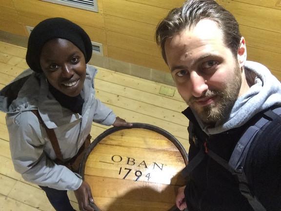 La distillerie d'Oban