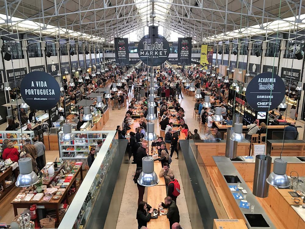 Mercado da Ribeira Lisbonne