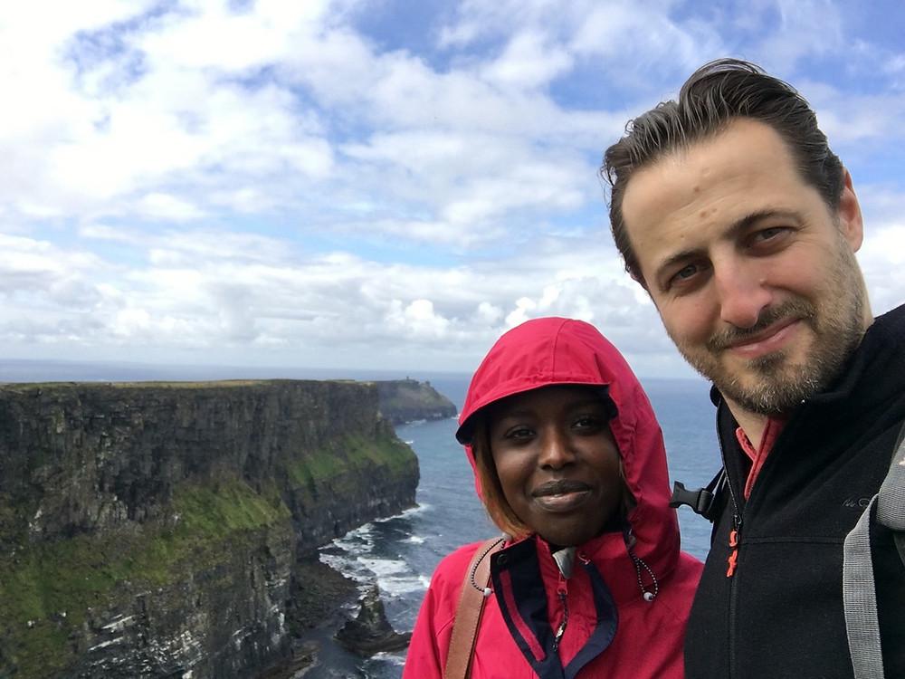 Ballade au bord des falaises de Cliffs of Moher