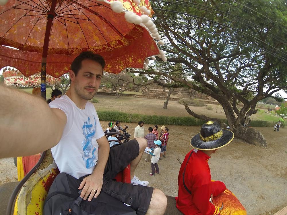 Eléphant Ayutthaya