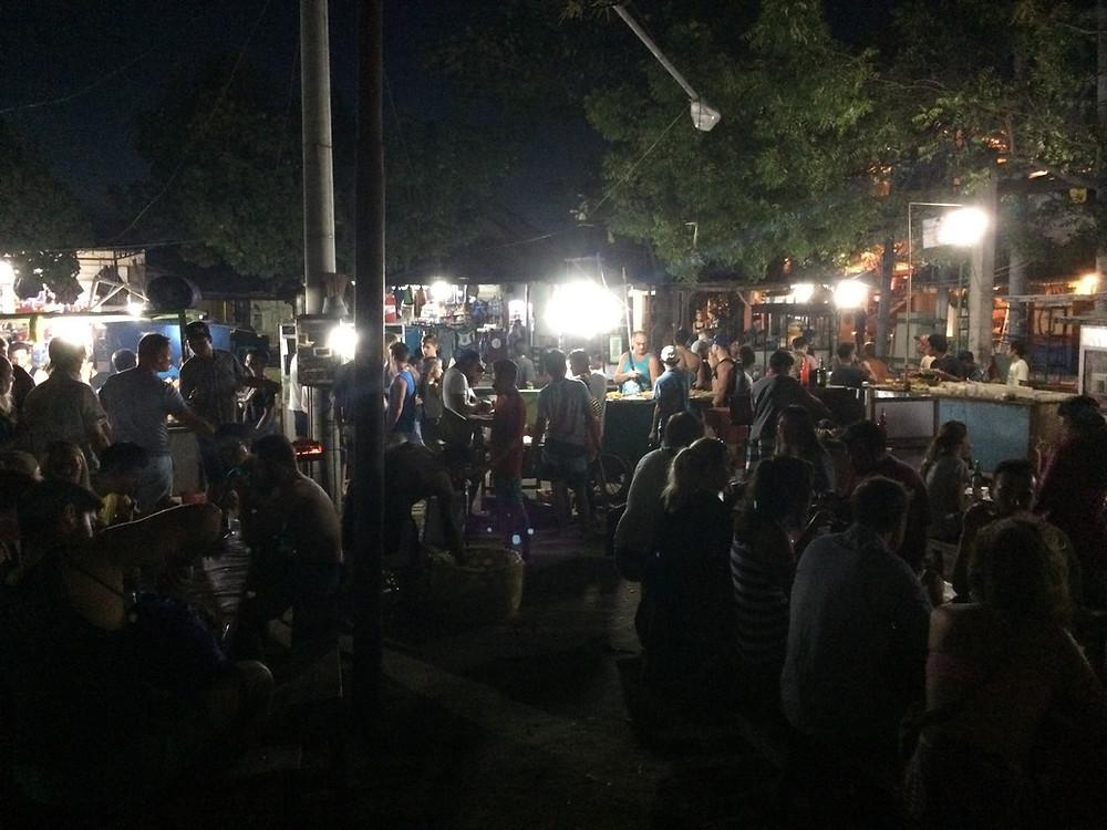 Le marché de nuit sur Gili Trawangan