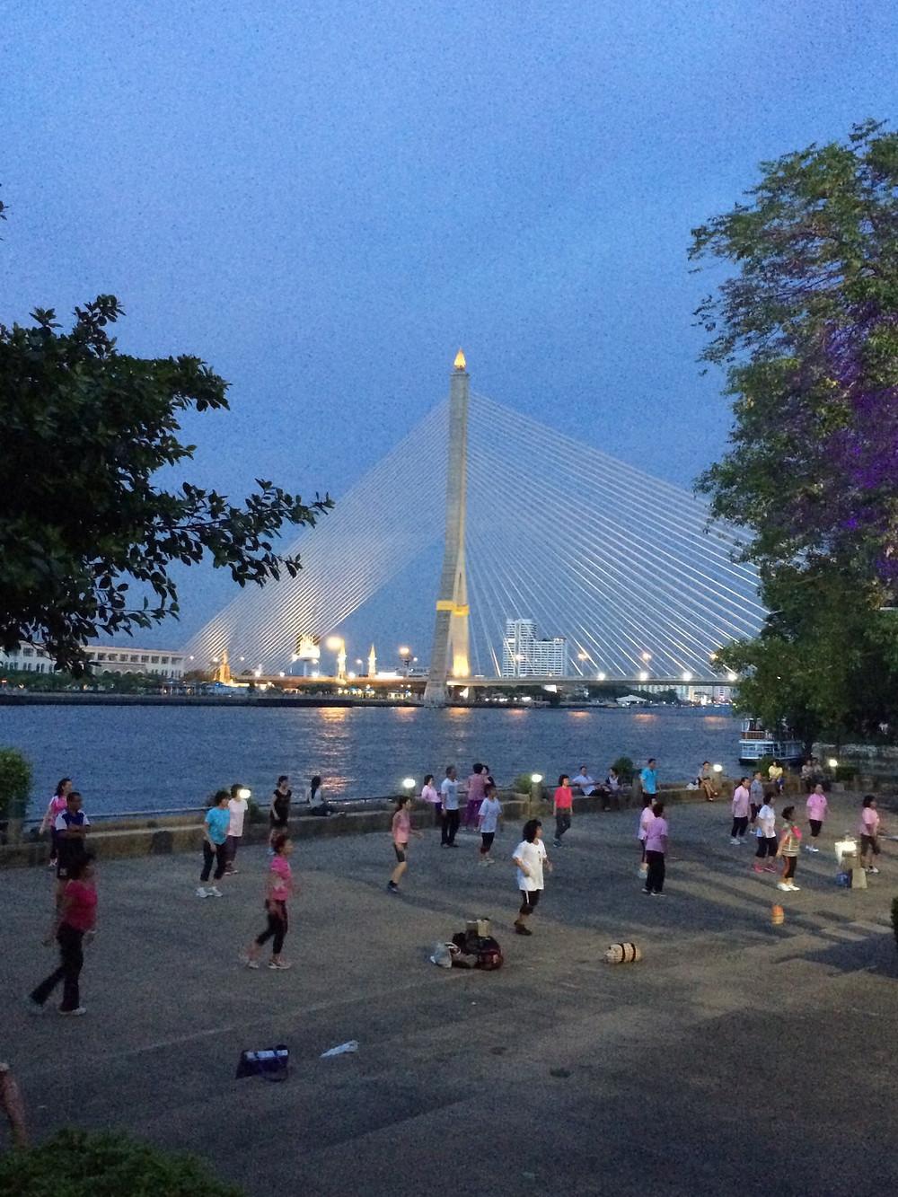 Pont Rama VIII Bangkok