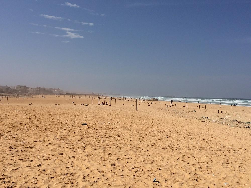 La plage de Yoff