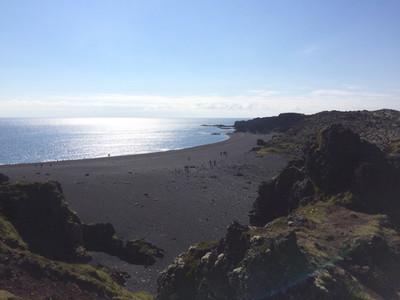 Plage de sable noir de Djupalonssandur
