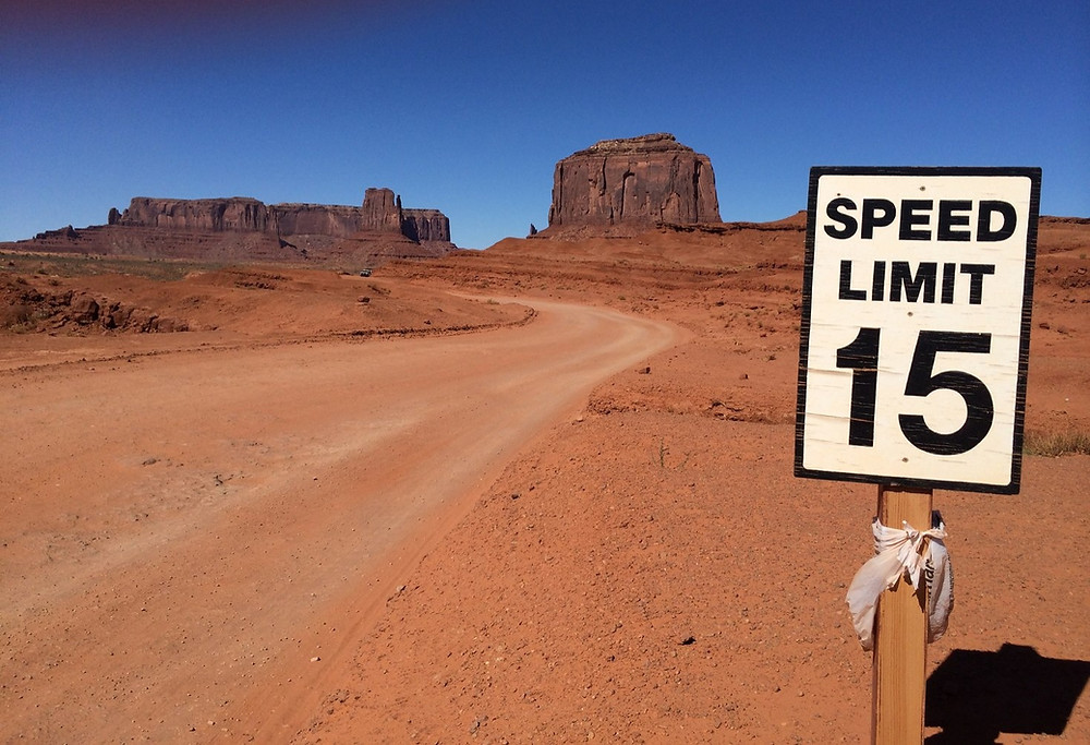 Rote dans Monument Valley