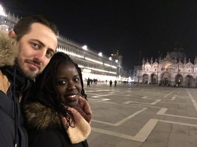 Piazza San Marco de nuit à Venise
