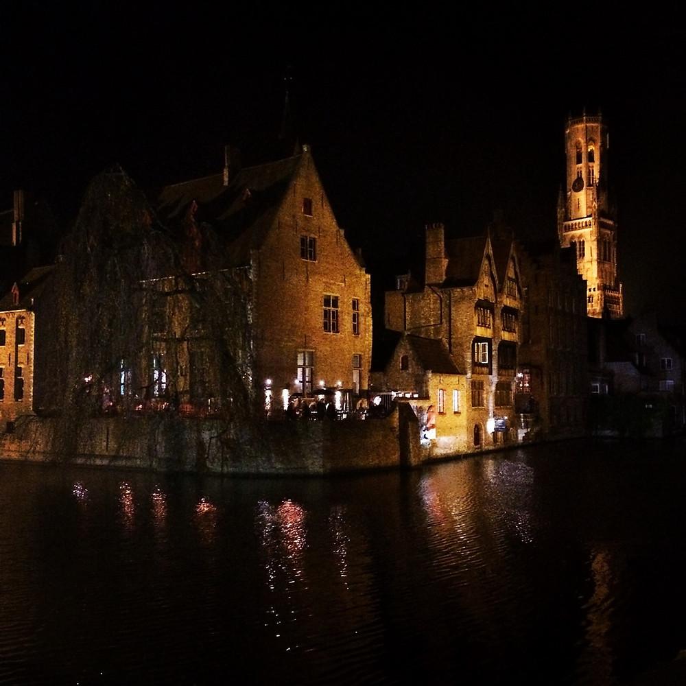 Le quai Rozenhoedkaai à Bruges